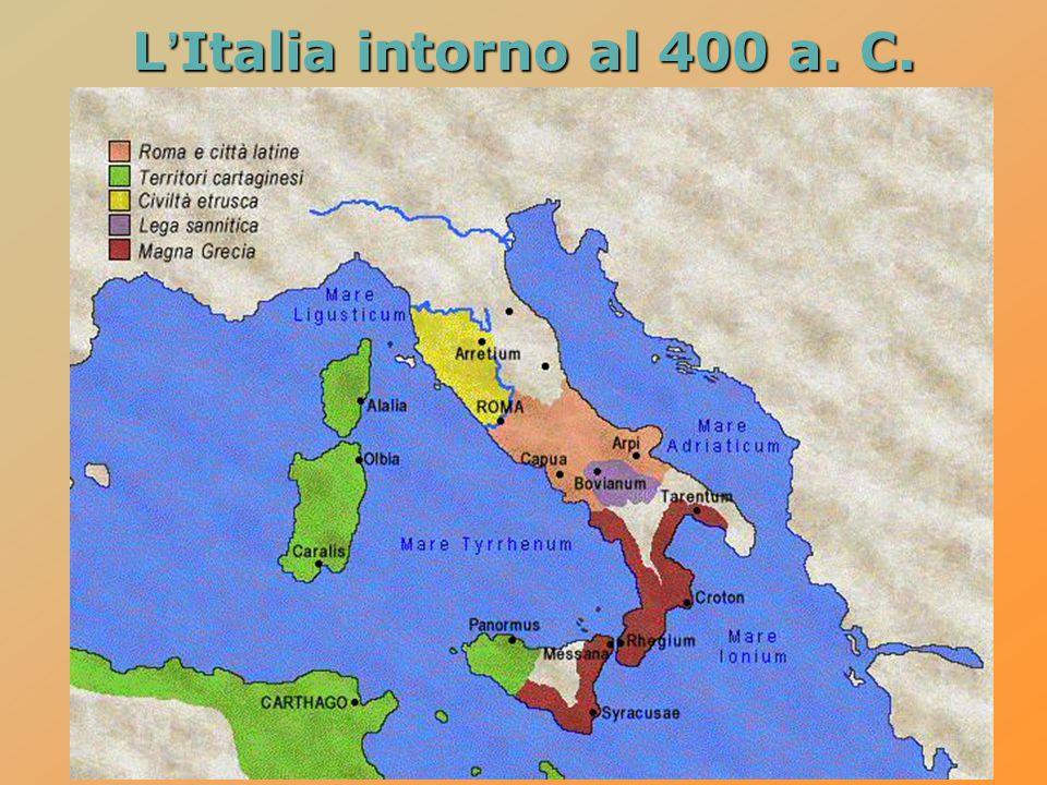  poco dopo Pirro è chiamato in Sicilia dalle città greche per difenderle dai Cartaginesi  fallita la spedizione in Sicilia, Pirro torna in Italia e viene sconfitto dai Romani nel 275 a.