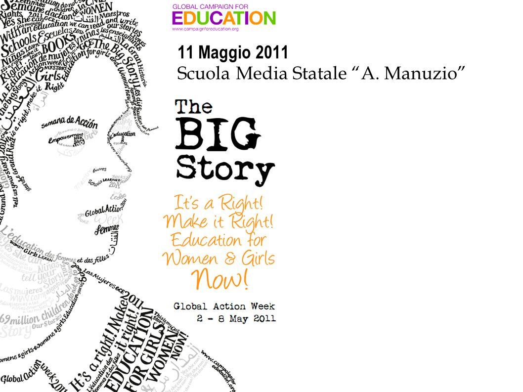11 Maggio 2011 Scuola Media Statale A. Manuzio