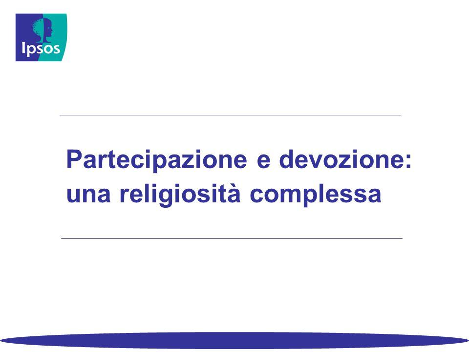 Partecipazione e devozione: una religiosità complessa