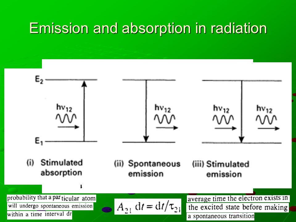 Einstein relations ( ) coefficienti di Einstein =