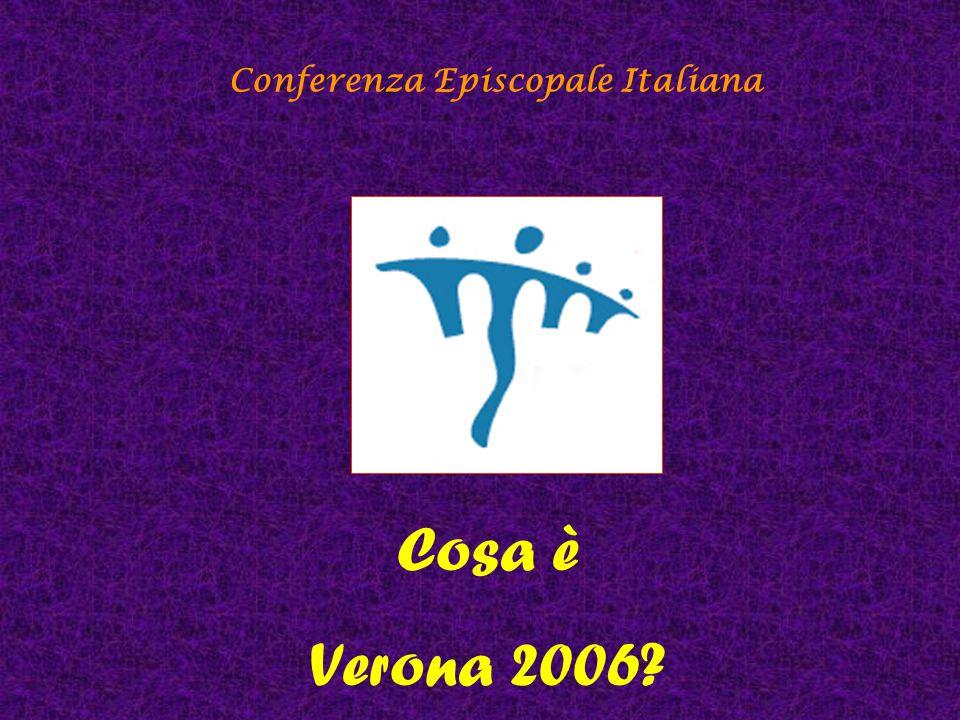 Conferenza Episcopale Italiana È l'evento che chiama a raccolta le Diocesi italiane a metà del percorso decennale indicato dalla CEI