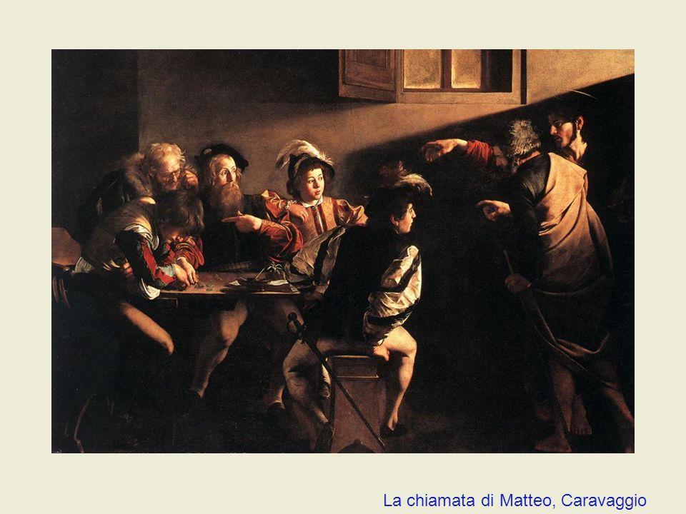 La chiamata di Matteo, Caravaggio