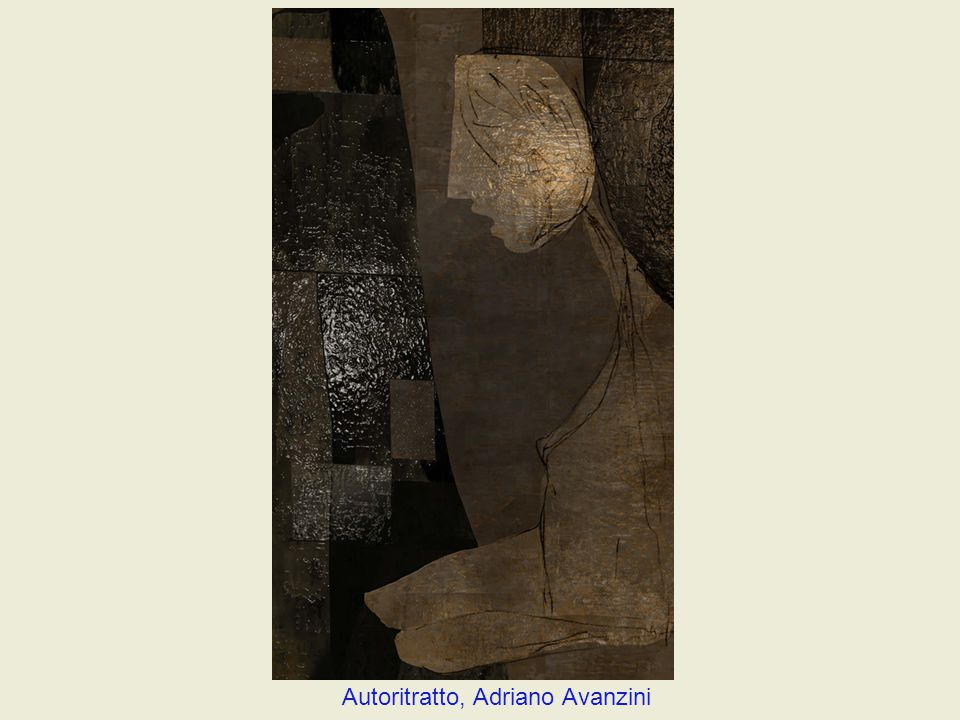 Autoritratto, Adriano Avanzini