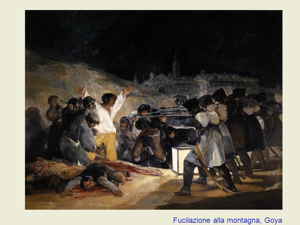 Fucilazione alla montagna, Goya