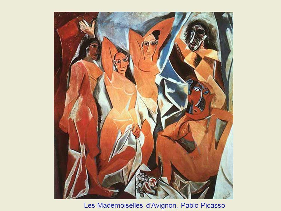 Les Mademoiselles d'Avignon, Pablo Picasso