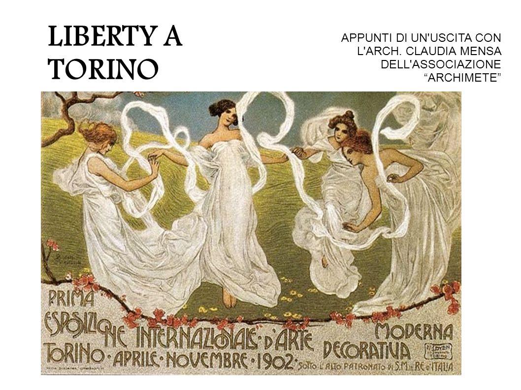 """LIBERTY A TORINO APPUNTI DI UN'USCITA CON L'ARCH. CLAUDIA MENSA DELL'ASSOCIAZIONE """"ARCHIMETE"""""""