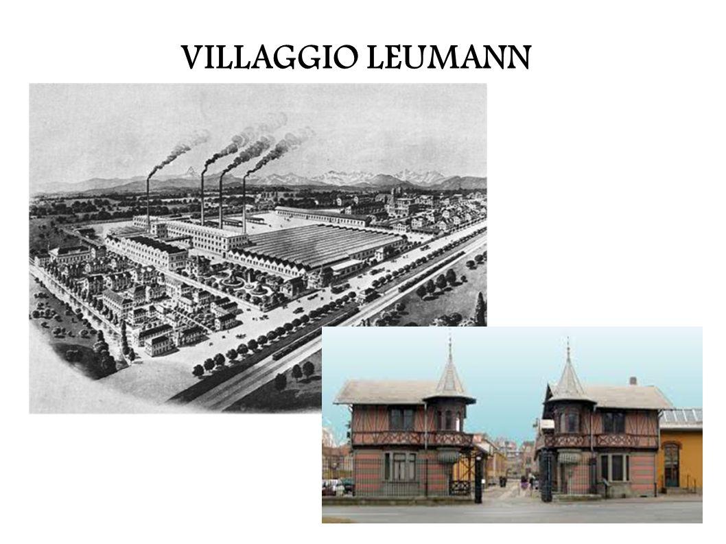 Nel 1815 la famiglia Leumann si trasferisce in Italia.