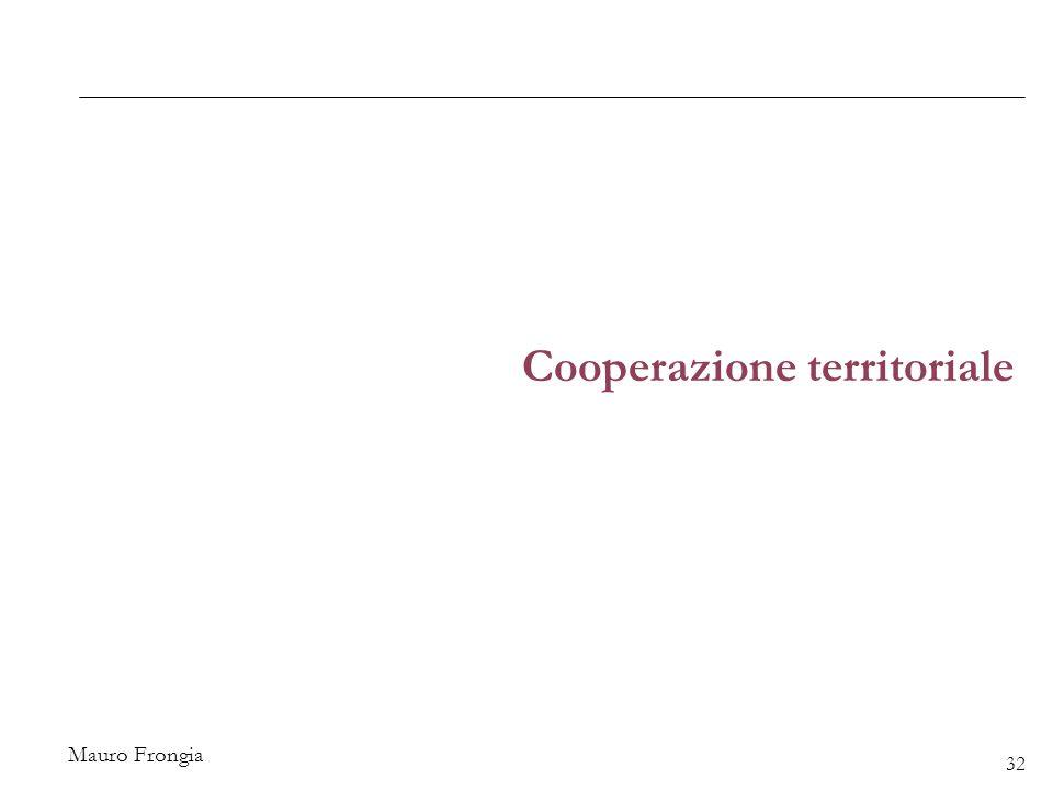 Mauro Frongia Cooperazione territoriale 32