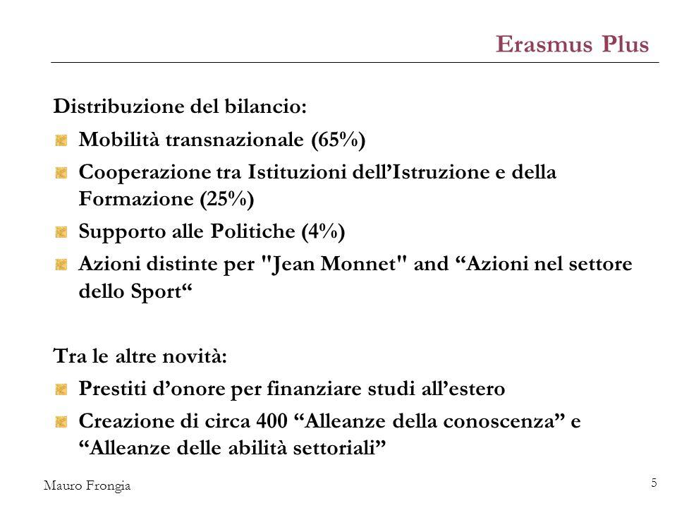 Mauro Frongia 26 Le politiche culturali All'interno delle POLITICHE DI COESIONE: Obiettivo tematico (OT) 6: tutela ambiente e valorizzazione risorse culturali e ambientali.