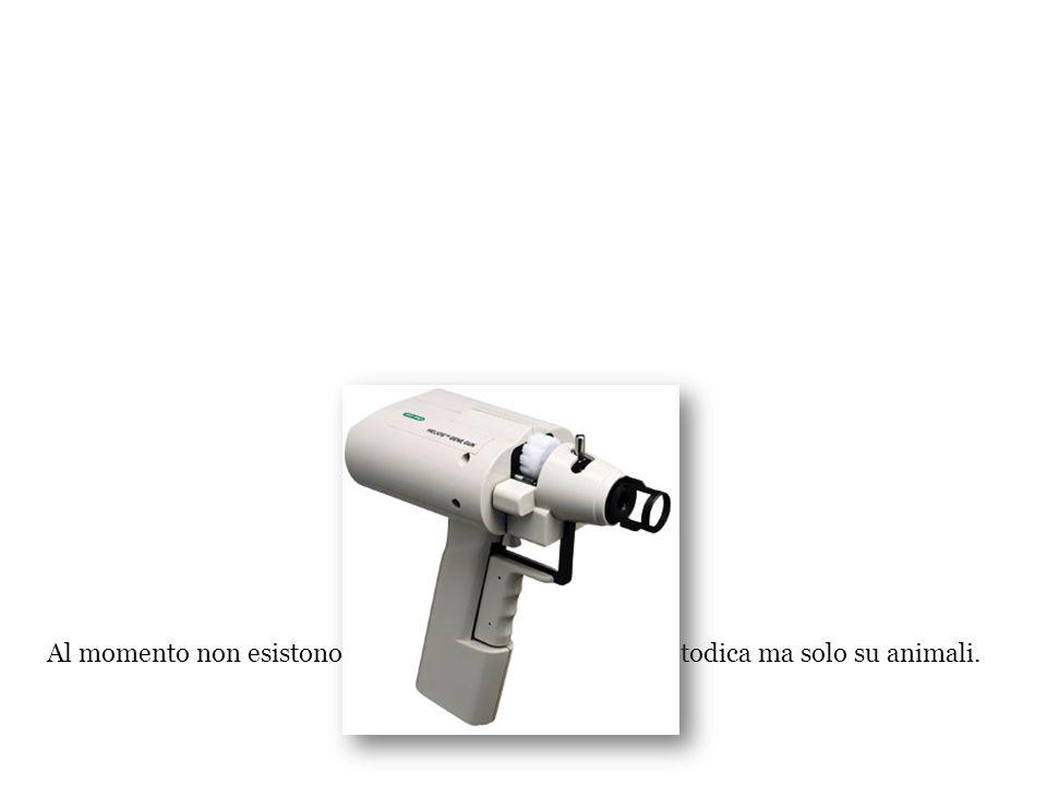 Bombardamento tramite particelle (gene gun) Il bombardamento tramite particelle consiste nell ' utilizzo di particolari strumenti elettrici o ad alta