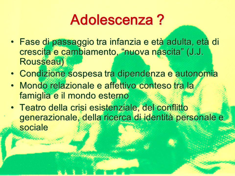 Adolescenza .