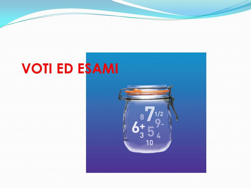 VOTI ED ESAMI