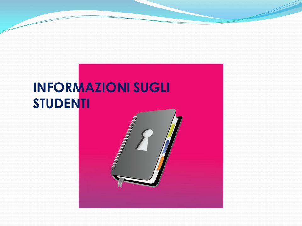 INFORMAZIONI SUGLI STUDENTI