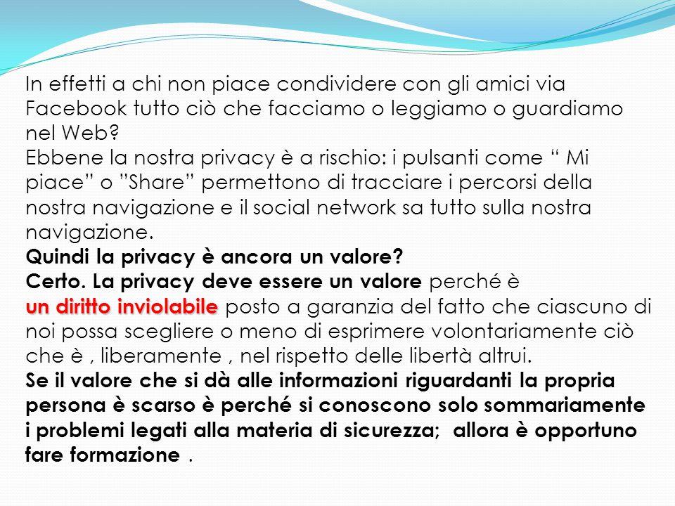 Videosorveglianza L'eventuale installazione di sistemi di videosorveglianza presso istituti scolastici deve garantire il diritto dello studente alla riservatezza (art.