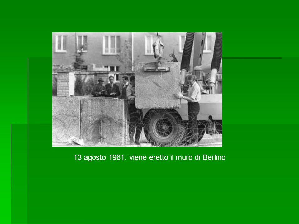 Negli anni '60 e '70 la DDR visse anch essa un «suo» boom economico.