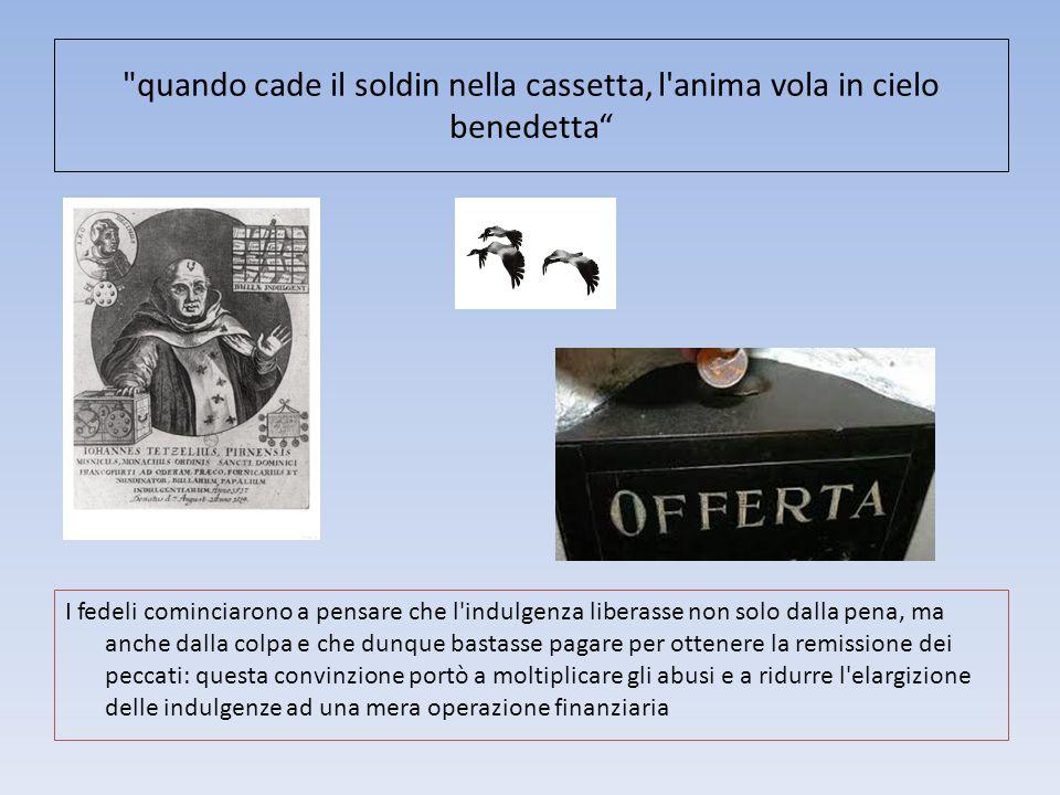LA REAZIONE DELLA CHIESA Il papa Leone X condannò le idee di Lutero con una bolla: lettera, ordinando che fosse scomunicato e i suoi scritti fossero bruciati.