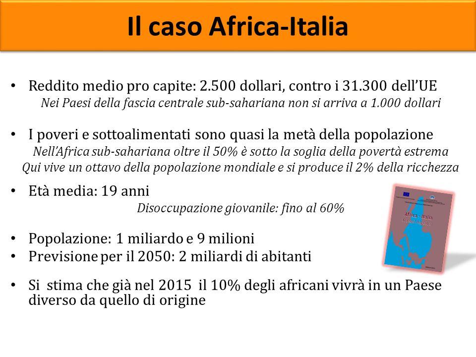 Reddito medio pro capite: 2.500 dollari, contro i 31.300 dell'UE Nei Paesi della fascia centrale sub-sahariana non si arriva a 1.000 dollari I poveri