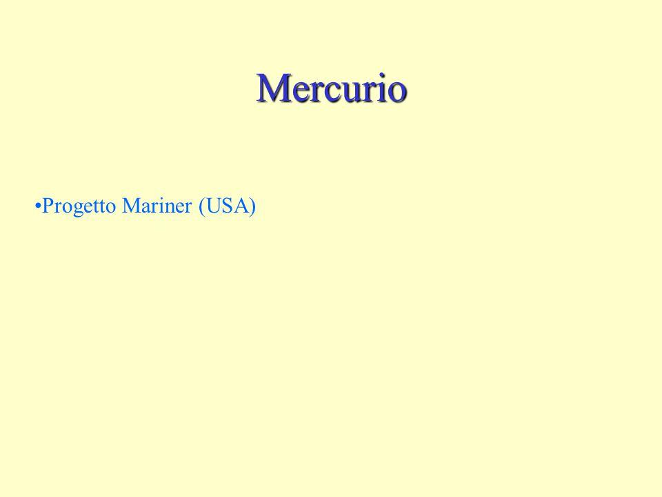 Mercurio Progetto Mariner (USA)