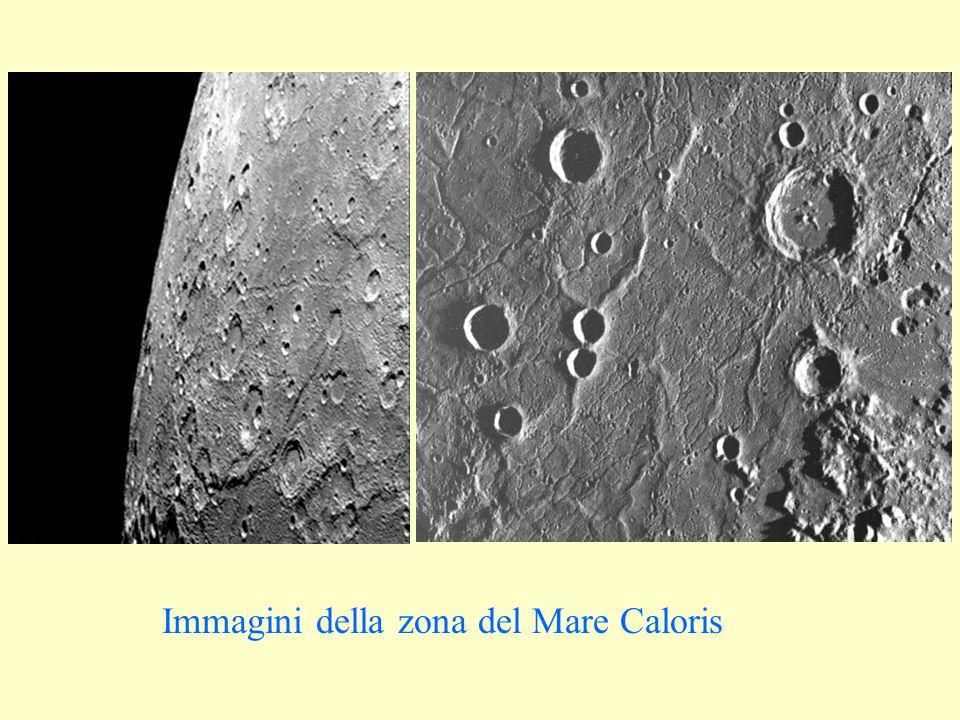 Immagini della zona del Mare Caloris
