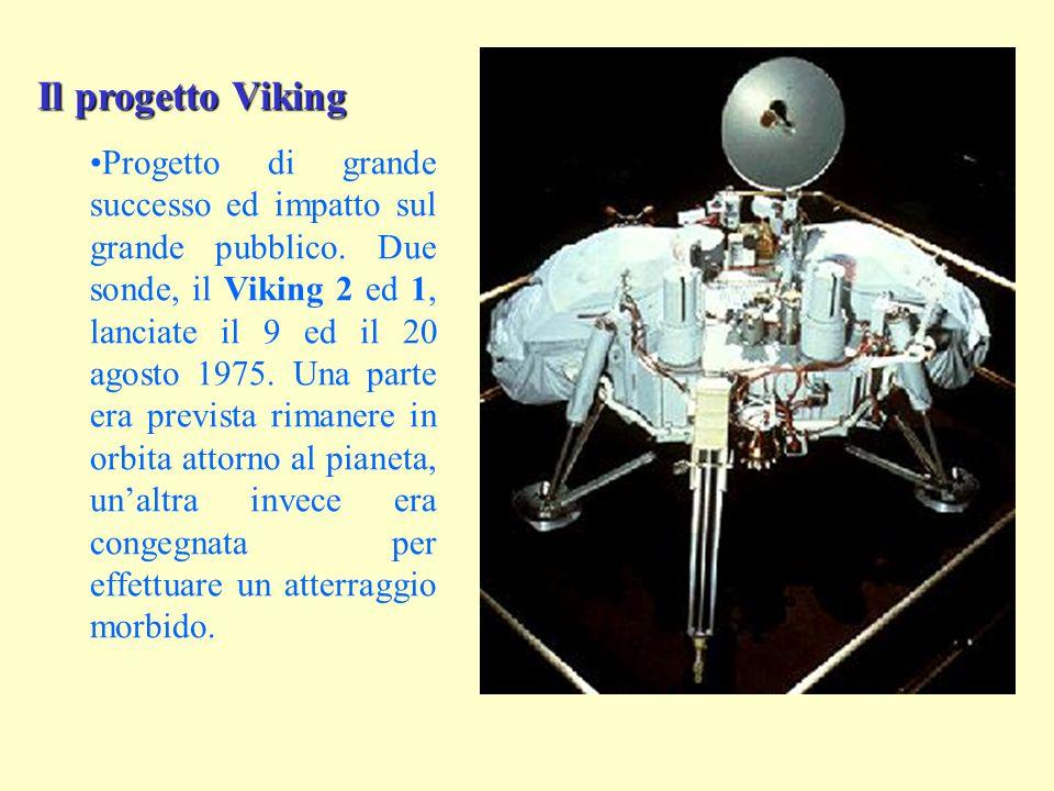 Il progetto Viking Progetto di grande successo ed impatto sul grande pubblico.