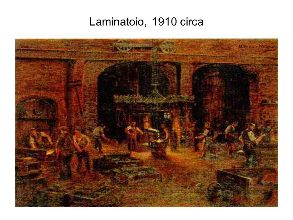 Laminatoio, 1910 circa