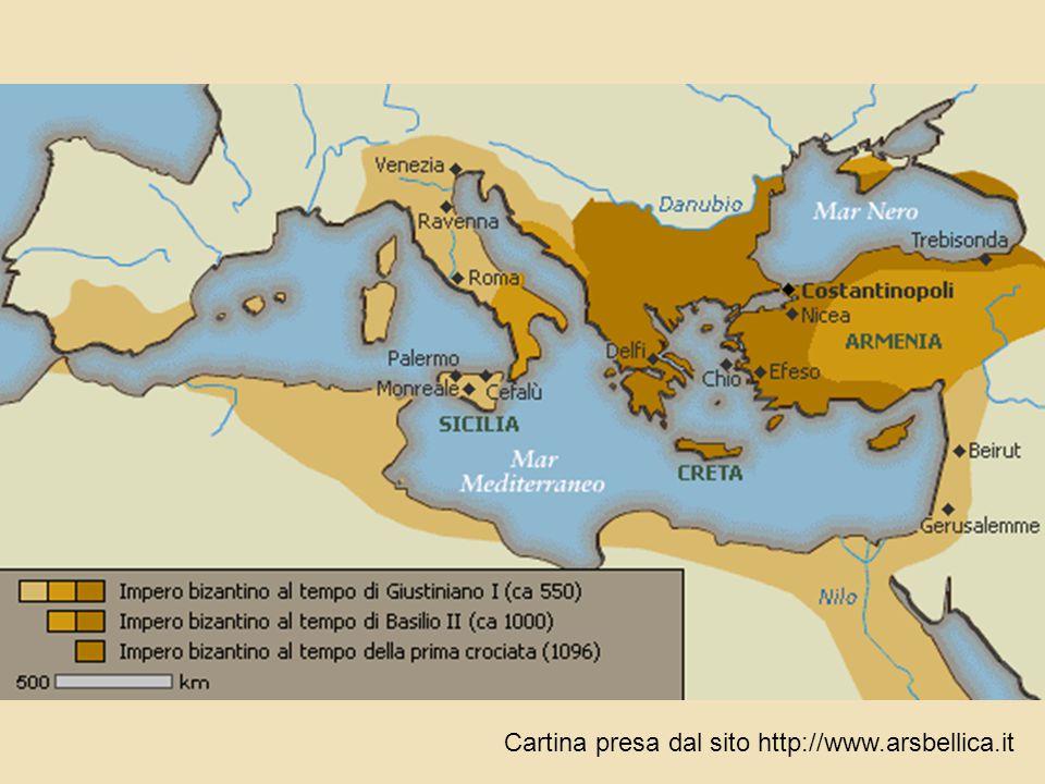 Cartina presa dal sito http://www.arsbellica.it