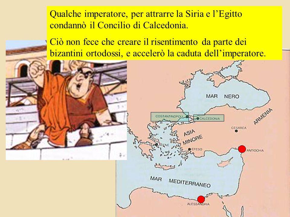 Altri imperatori crearono scismi con Roma, come quello conosciuto col nome dell'allora vescovo di Costantinopoli, Acacio.