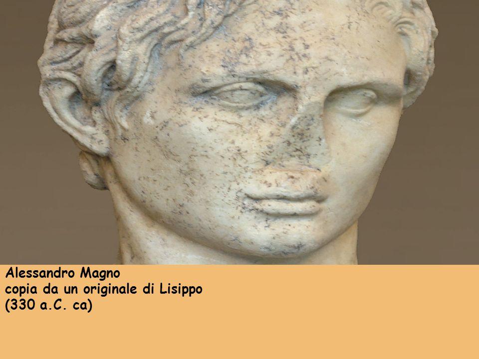 Alessandro Magno copia da un originale di Lisippo (330 a.C. ca)