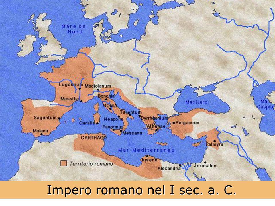 Impero romano nel I sec. a. C. Impero romano nel I sec. a. C.