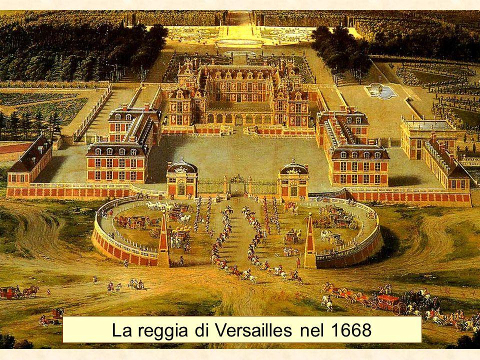 La reggia di Versailles nel 1668