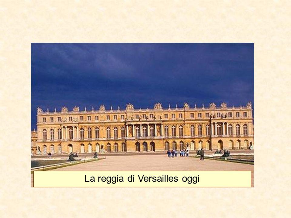 La reggia di Versailles oggi