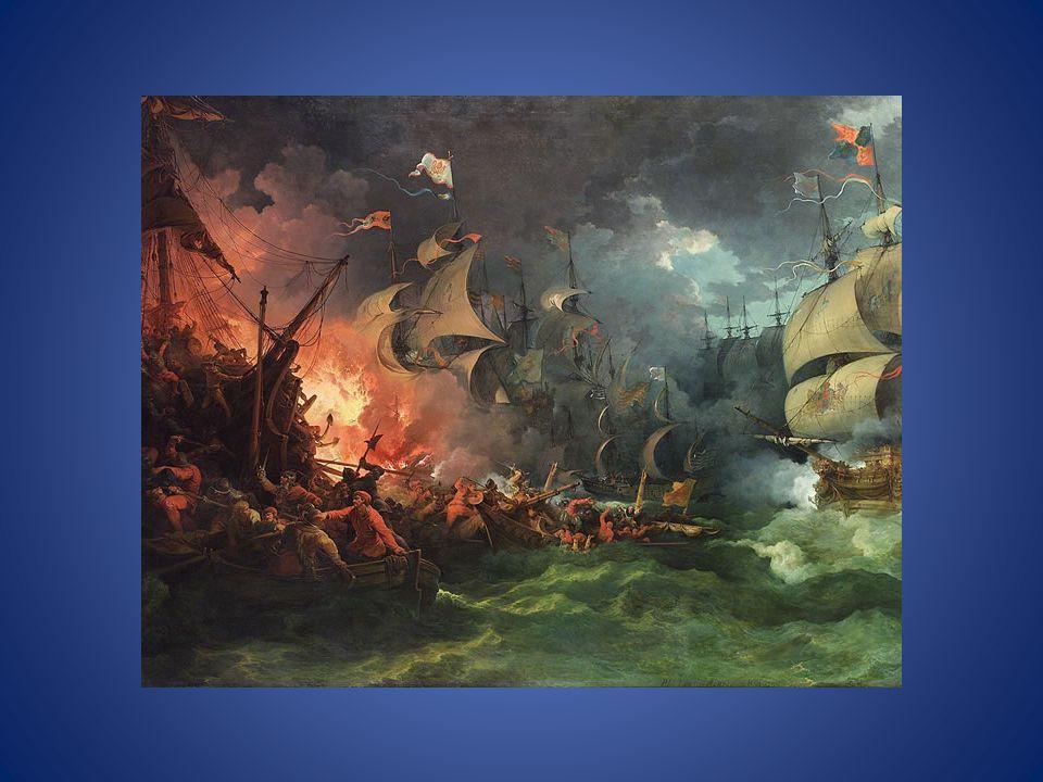 Delle 138 navi con 24.000 uomini che erano salpate a Lisbona, 45 imbarcazioni e 10.000 unità andarono perduti.