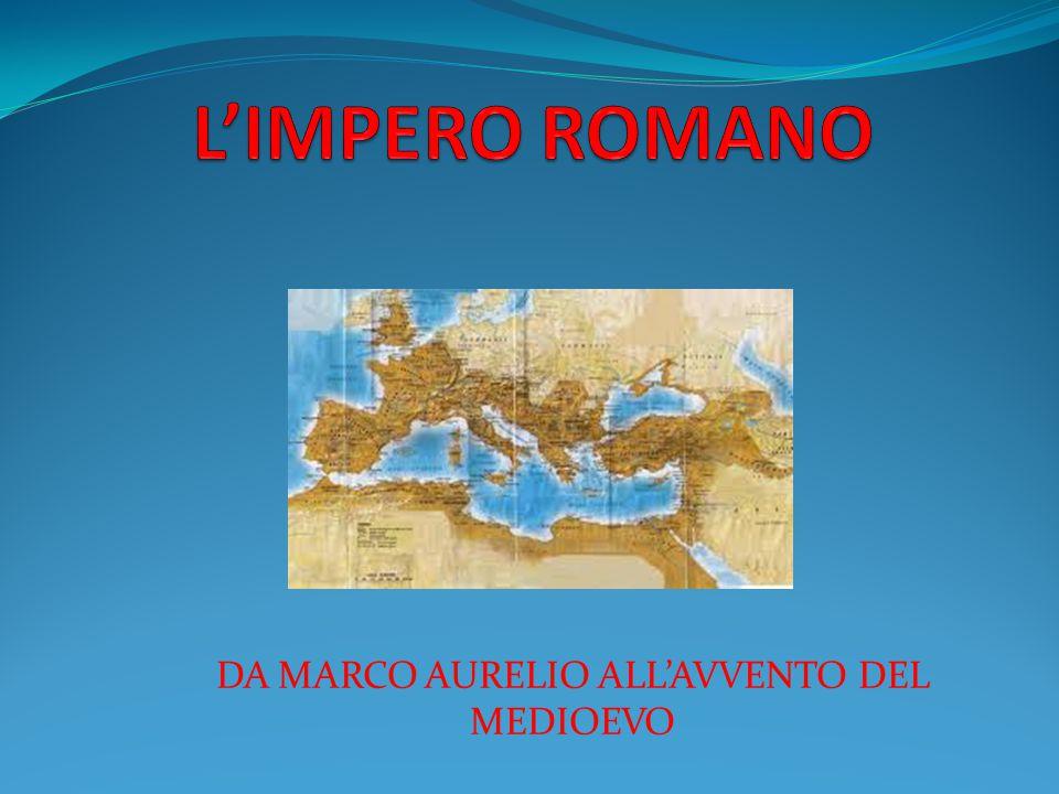 L'imperatore MARCO AURELIO dovette affrontare nuovi problemi.