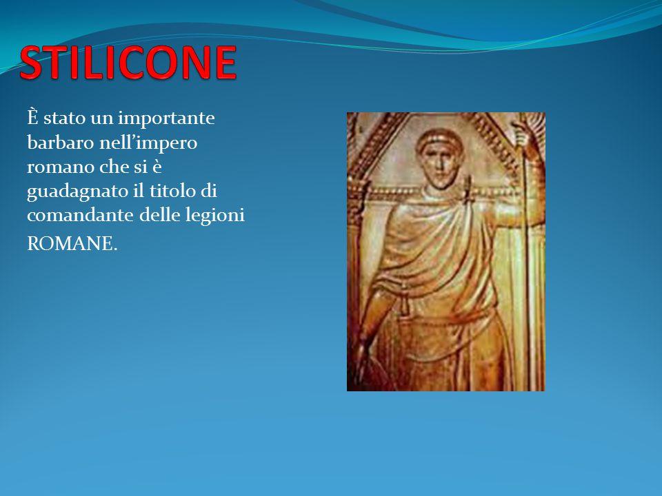 È stato un importante barbaro nell'impero romano che si è guadagnato il titolo di comandante delle legioni ROMANE.