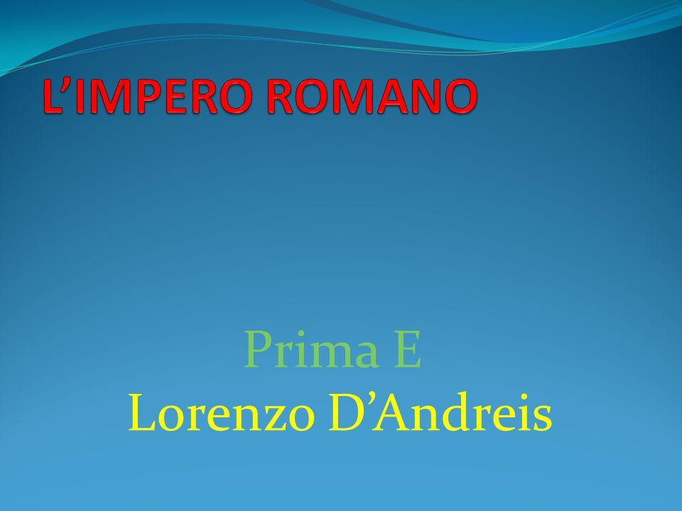 Prima E Lorenzo D'Andreis