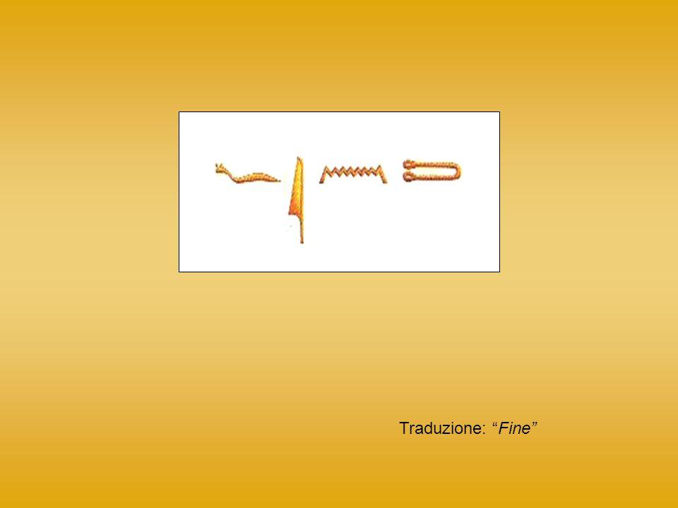 Traduzione: Fine