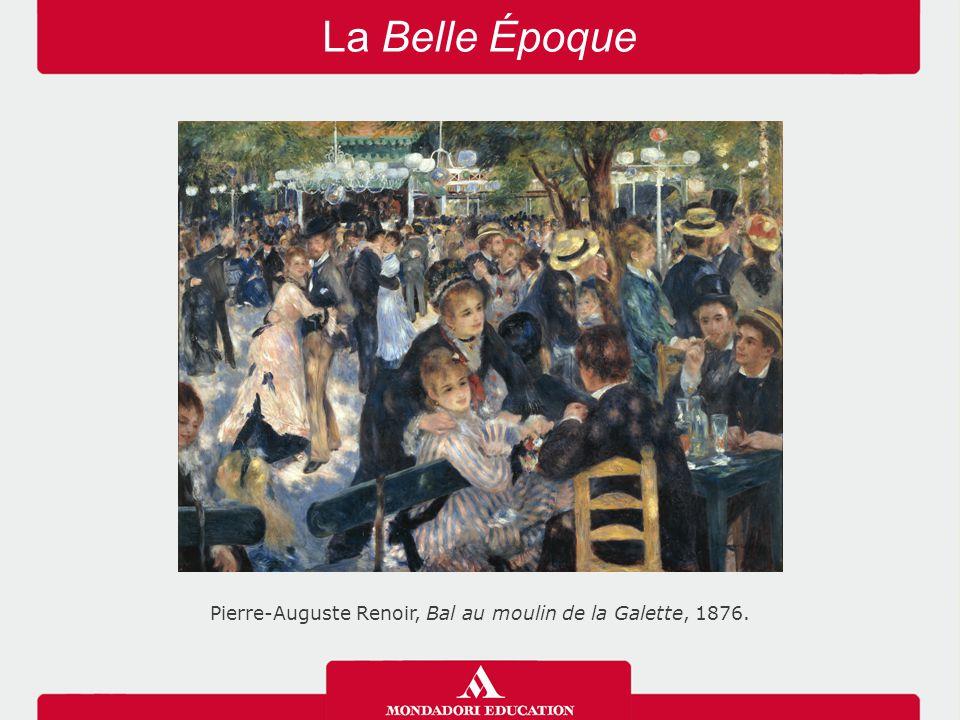 La Belle Époque Pierre-Auguste Renoir, Bal au moulin de la Galette, 1876.