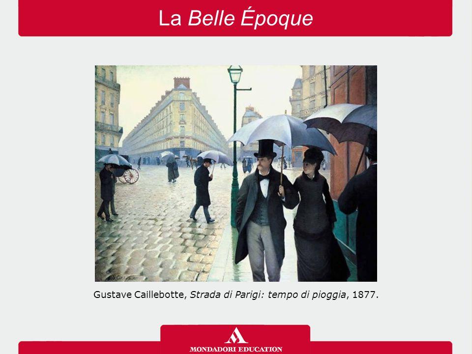 La Belle Époque Gustave Caillebotte, Strada di Parigi: tempo di pioggia, 1877.