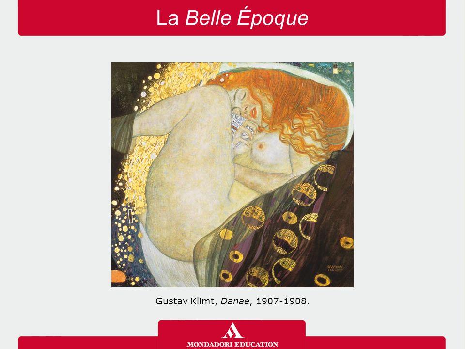 La Belle Époque Gustav Klimt, Danae, 1907-1908.