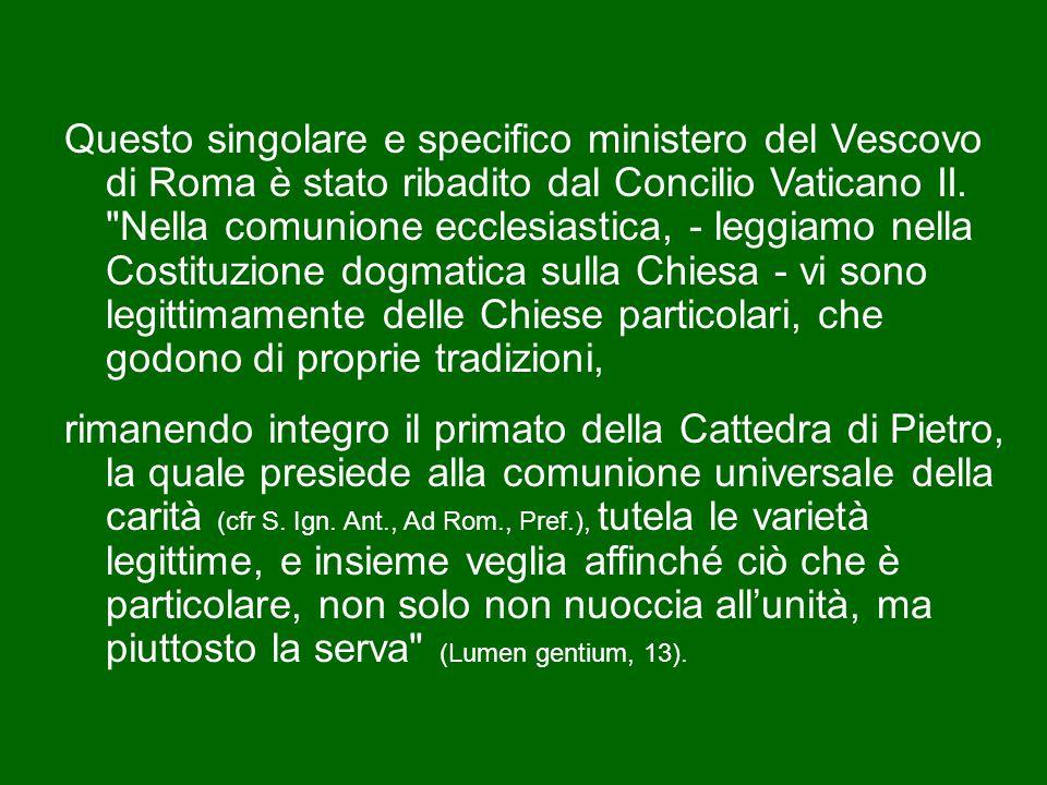 Subito dopo il martirio dei santi Pietro e Paolo, alla Chiesa di Roma venne infatti riconosciuto il ruolo primaziale in tutta la comunità cattolica, ruolo attestato già nel II secolo da sant'Ignazio di Antiochia (Ai Romani, I, 252) e da sant'Ireneo di Lione (Contro le eresie III, 3, 2-3).