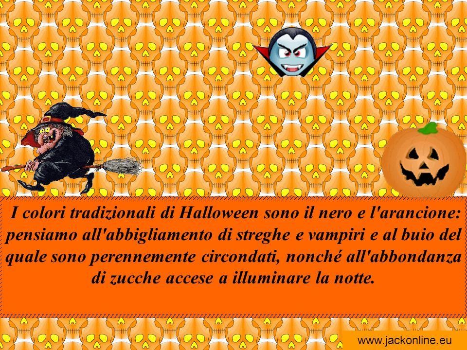 www.jackonline.eu Perché i colori tipici sono arancione e nero?