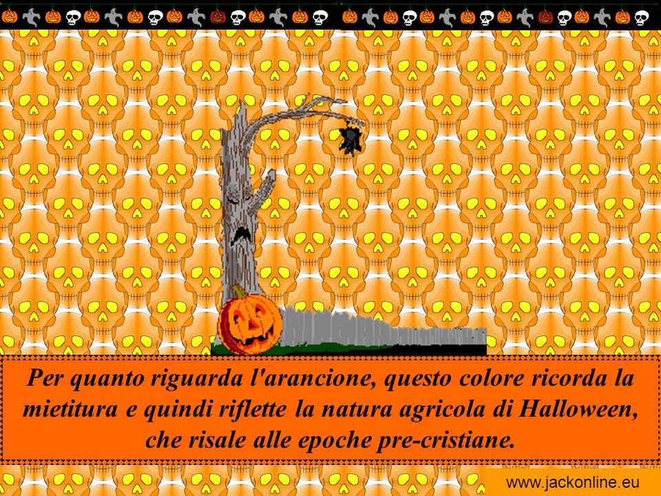 www.jackonline.eu E poi il nero è il colore privilegiato dalle streghe, per la sua abilità di ostacolare e addirittura annullare il maligno, e di asso
