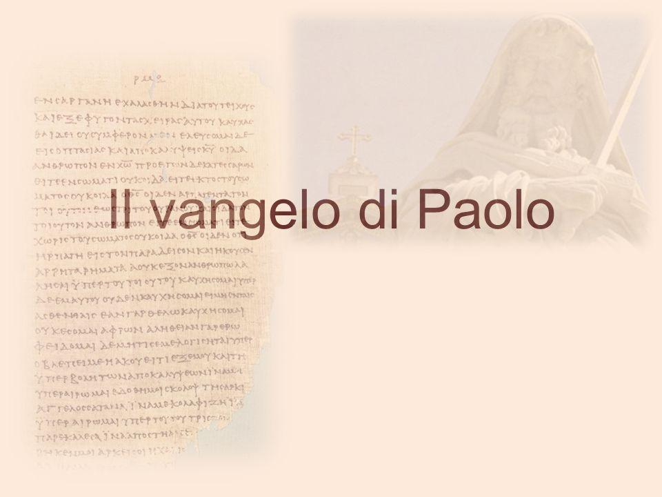 Il vangelo di Paolo
