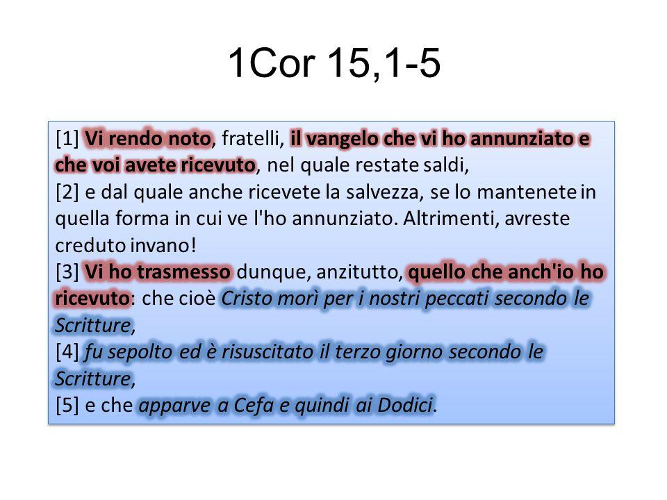 1Cor 15,1-5