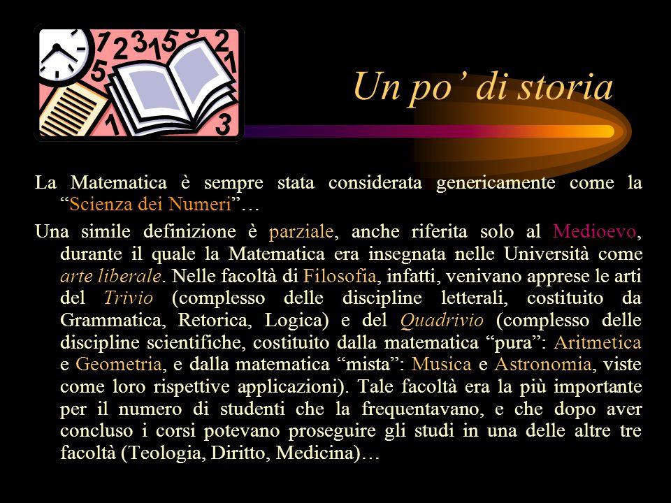 Un po' di storia APOLLONIO E TOLOMEO Tra il II secolo a.C.