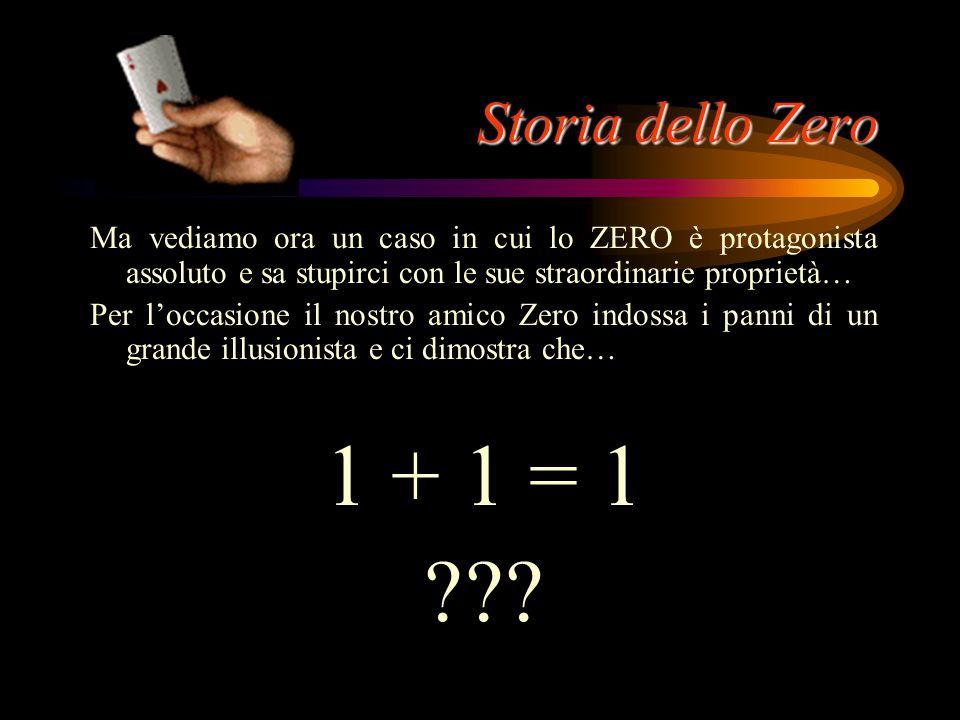 Storia dello Zero In termodinamica uno zero divenne la barriera insuperabile, la più bassa temperatura possibile. Nella storia della relatività di Ein