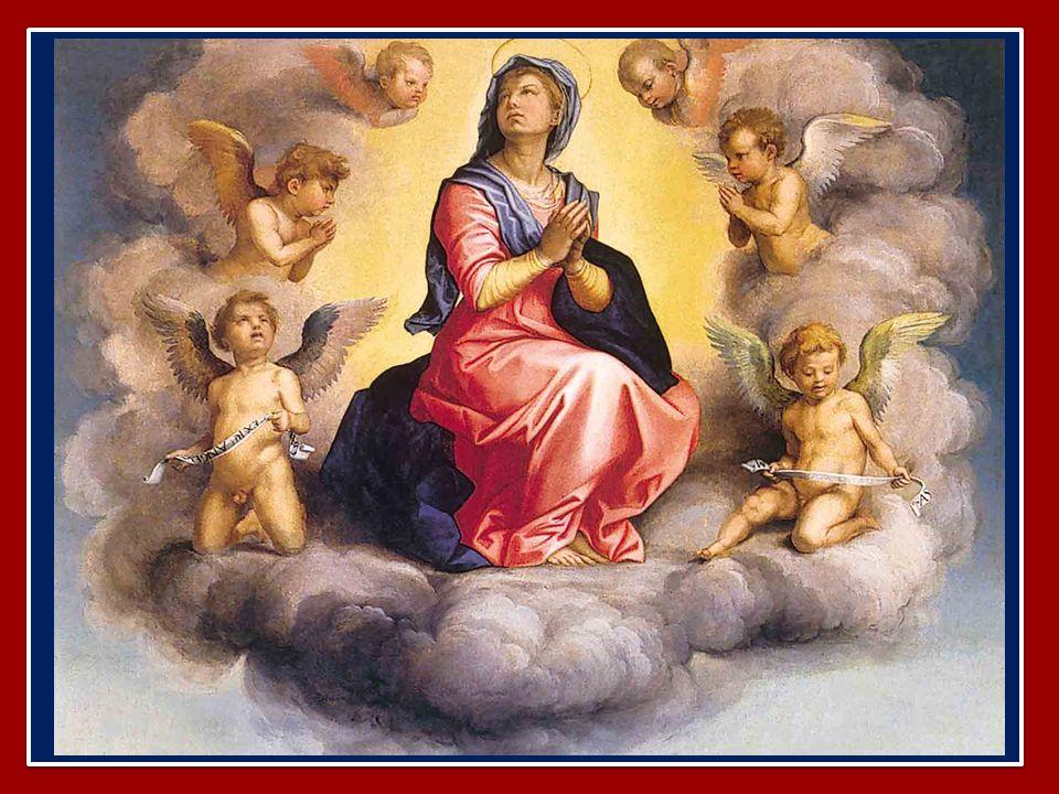 Benedetto XVI ha introdotto la preghiera mariana dell' Angelus dal Palazzo Apostolico di Castel Gandolfo nella Solennità dell'Assunzione della Beata V