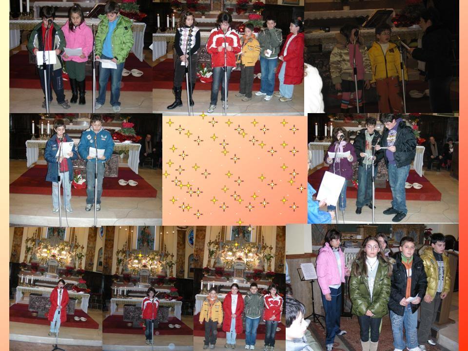 28 Dicembre 2007 Festa degli Innocentini Tutti i bambini del catechismo in questo giorno offrono a Gesù bambino:preghiere, poesie e canti.