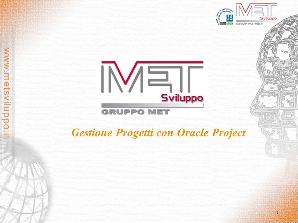 1 Gestione Progetti con Oracle Project