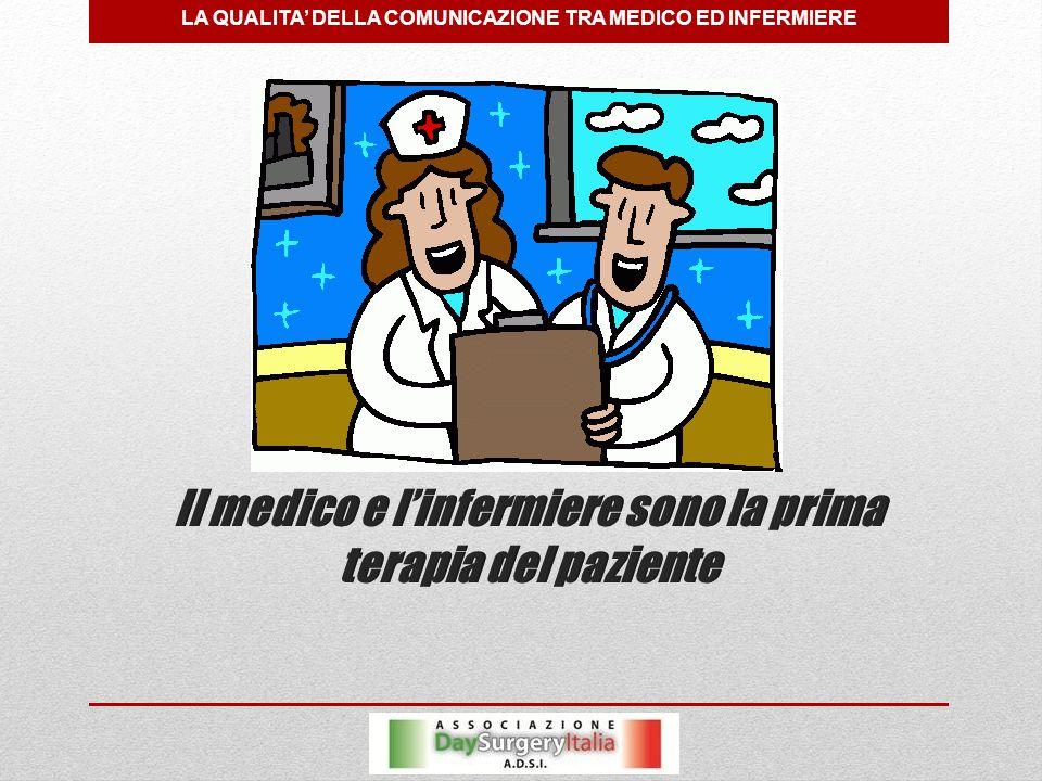 LA QUALITA' DELLA COMUNICAZIONE TRA MEDICO ED INFERMIERE